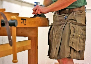Kilted Woodworking