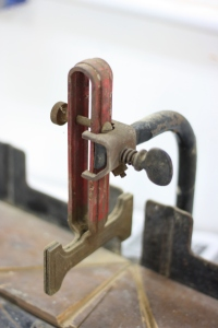 Detail Of Saw Guide