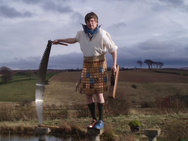 Fraser Tartan, Wooden...