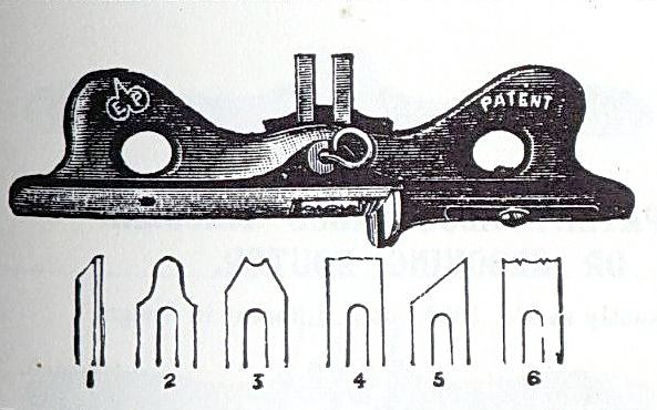 Ad image for the 1393s and the cutters that came with it from the reprint of the 1909 catalogue.