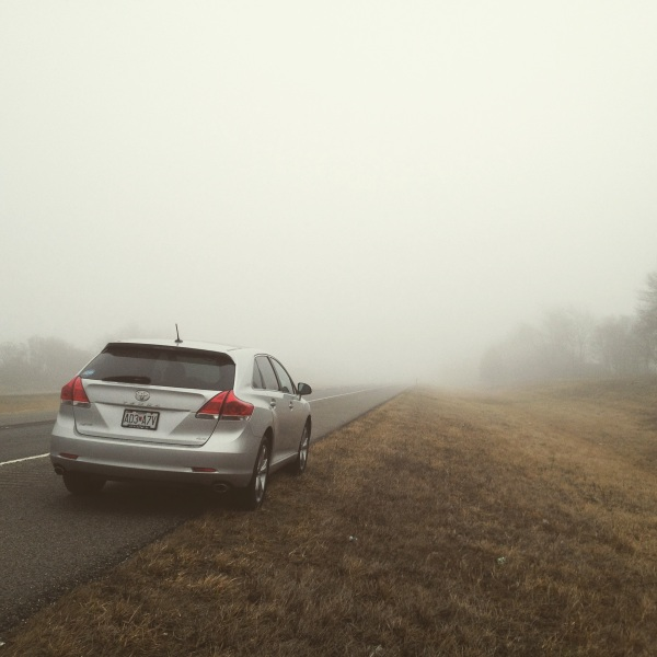 I swear I was just taking a picture of the fog...