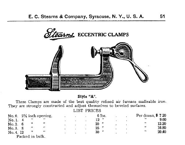 Page 51 of the 1924 Stearns Hardware Catalog