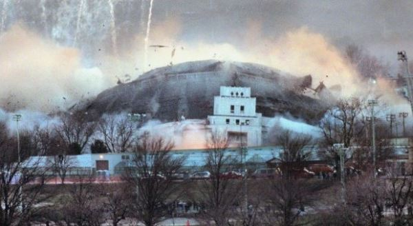 Old Checkerdome Imploding 01