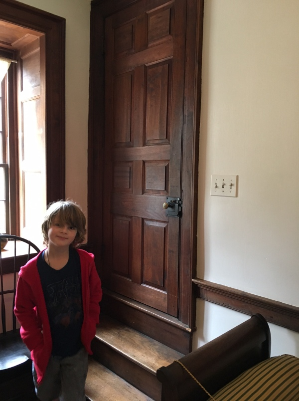 Walnut doors and the middling human